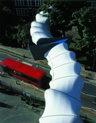 PTFE coated glass cloth bridge cladding