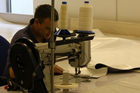 Industrial sewing and repairs