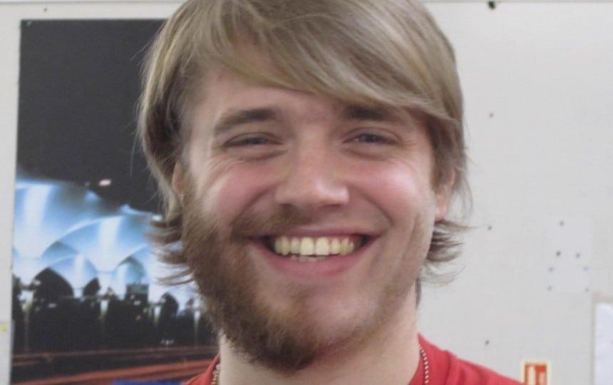 half beard for charity