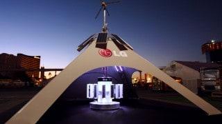 LG carbon negative tent