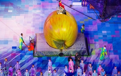 PVC Fabric Structure – Opening Ceremony of Paralympics
