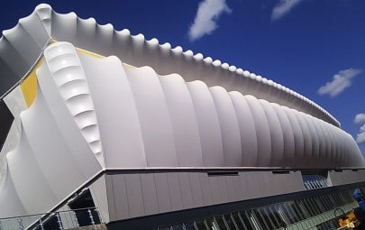 Grandstand PVC canopy