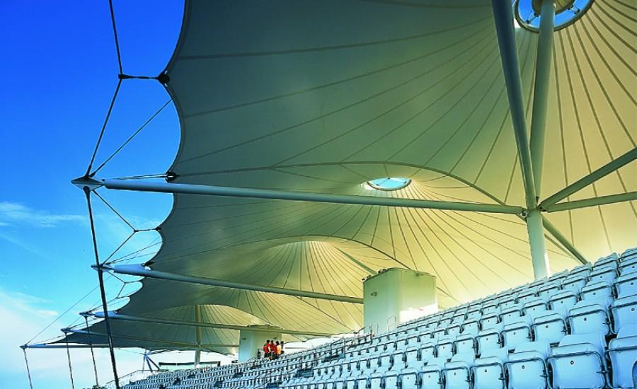 Hampshire Cricket Ground Fabric Canopy