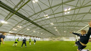 PVC polyester roof structure over the National Football Centre