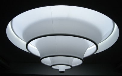 Interior fabric structure