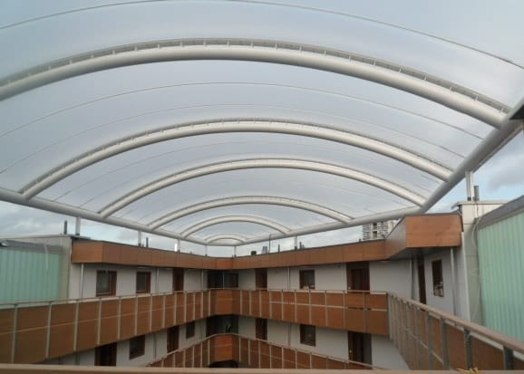 The Effects Of A Power Failure On An Etfe Cushion Roof