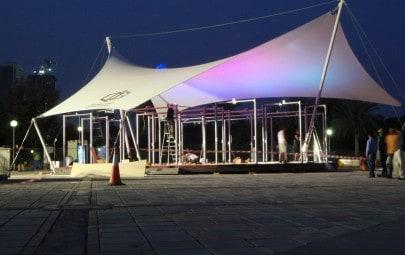 Demountable sail canopy